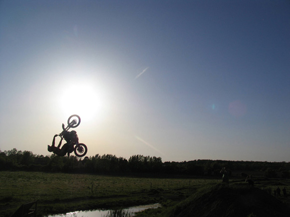 Sunseet backflip